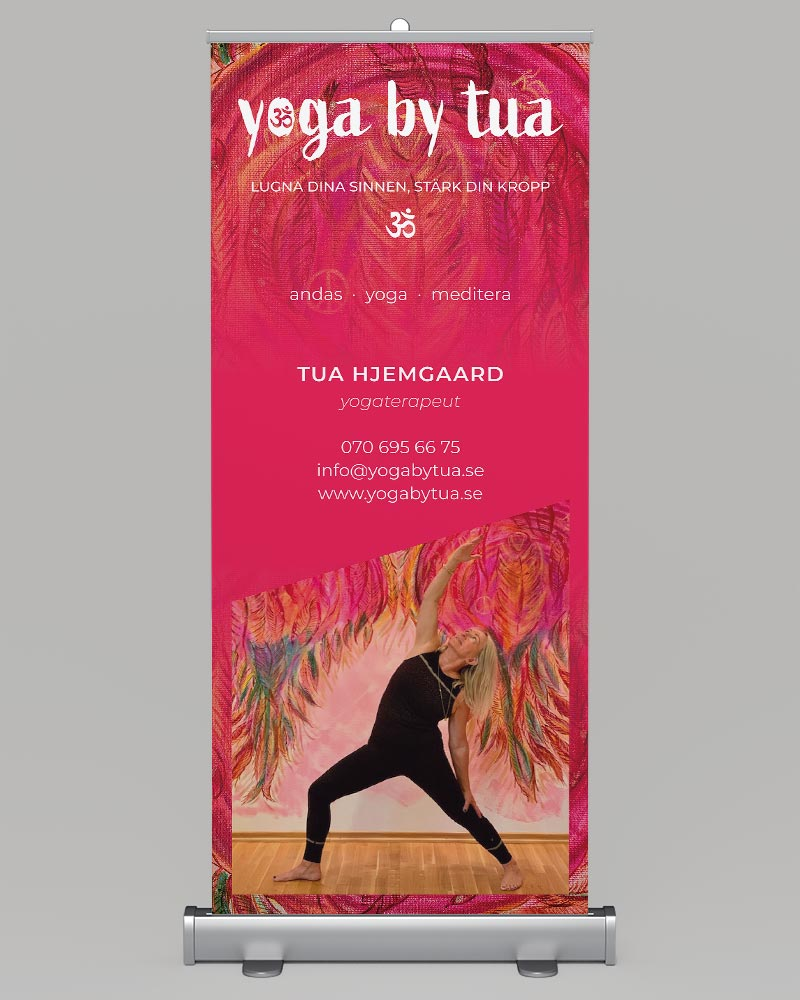 Yoga by Tua · Roll up / Banner